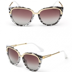 New arrival the elegant gold line easy match sunglasses