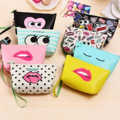 New arrival hot sale cheap price modern printing Cosmetic bag / storage bag