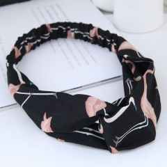 Cross elastic wild hair accessories hair band