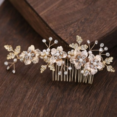 New arrival gold color fresh trend hair accessory
