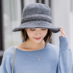 2019 autumn and winter Wool fisherman's hat