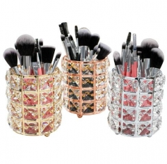 Delicate five color imitation crystal storage bucket (wihtout brushes)