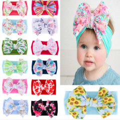 Summer new arrival sweet bowknot design babay hair band
