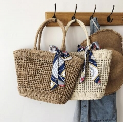 Natutral trend Straw beach bag