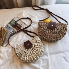 Natural trend Knitted saddle bags