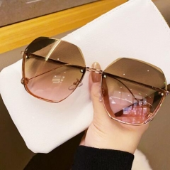 2021 hot sale  unique design without frame sunglasses